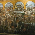 Painting of the Spanish Conquest