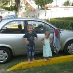Two kids and One Rental Car