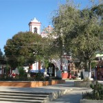Nearby Plaza and Iglesia
