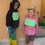 Green Belly Monster Dress up Day